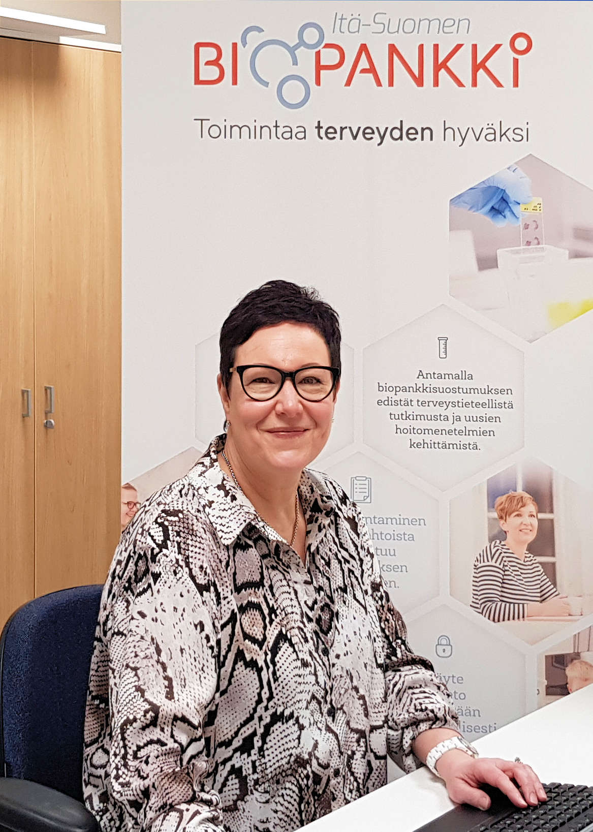 Itä-Suomen Biopankille oma tutkimushoitaja Siun soten alueelle